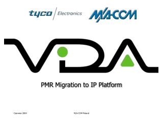 PMR  Migration to IP Platform