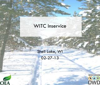 WITC Inservice