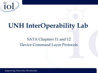 UNH InterOperability Lab