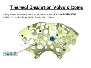 Thermal Insulation Valve's Dome