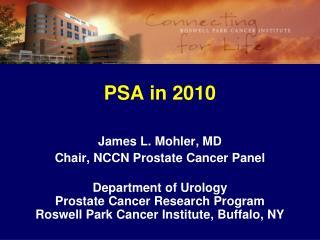 PSA in 2010