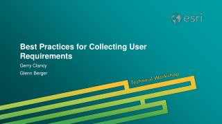 Best Practices for Collecting User Requirements