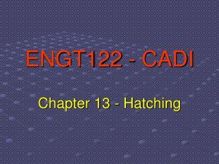 ENGT122 - CADI