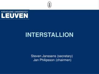 INTERSTALLION