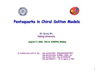 Pentaquarks in Chiral Soliton Models