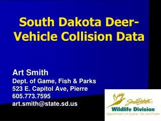 South Dakota Deer-Vehicle Collision Data