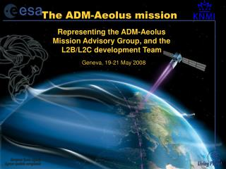 The ADM-Aeolus mission
