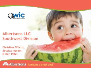 Albertsons LLC  Southwest Division