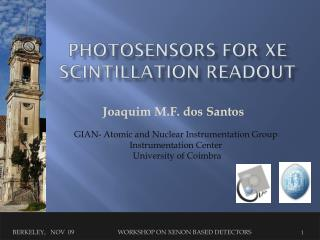 Photosensors  for  xe scintillation readout