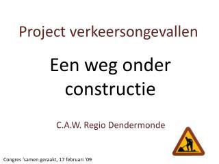 Project verkeersongevallen