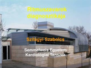 Szilágyi Szabolcs Semmelweis Egyetem Kardiológiai Tanszék
