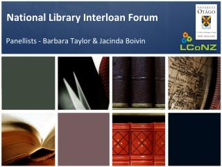 National Library Interloan Forum