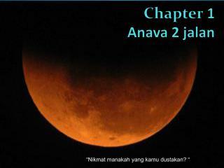 Chapter  1 Anava  2  jalan