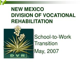 NEW MEXICO  DIVISION OF VOCATIONAL REHABILITATION