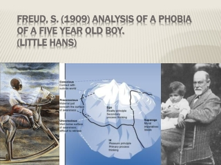 FREUD : ANALYSIS OF A PHOBIA IN A FIVE YEAR OLD BOY