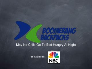 May No Child Go To Bed Hungry At Night
