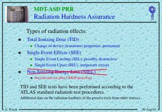 R adiation Hardness Assurance