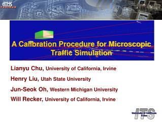 A Calibration Procedure for Microscopic Traffic Simulation