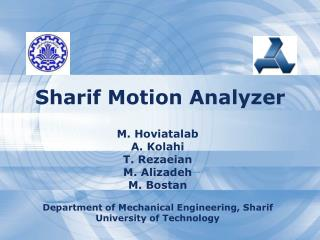 Sharif Motion Analyzer