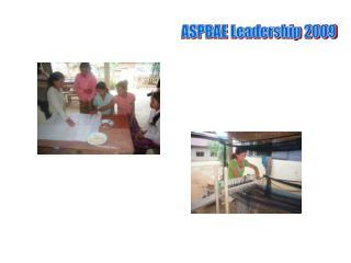 ASPBAE Leadership 2009