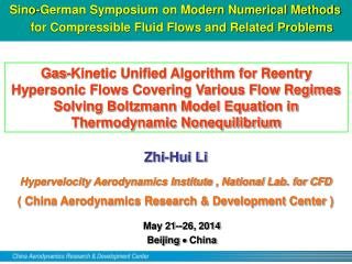 May 21--26, 2014   Beijing    China