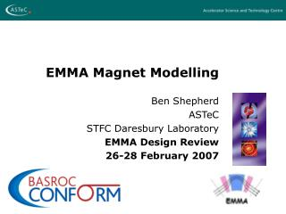 EMMA Magnet Modelling