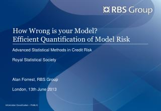 How Wrong is your Model? Efficient Quantification of Model Risk