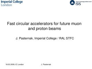 Fast circular accelerators for future muon  and proton beams