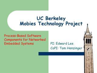 UC Berkeley Mobies Technology Project