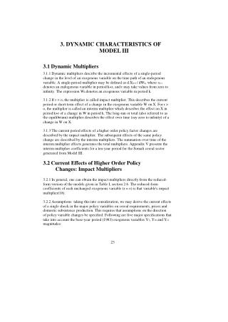 3. DYNAMIC CHARACTERISTICS OF