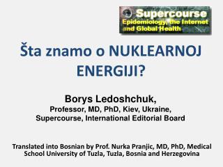 Šta znamo o NUKLEARNOJ ENERGIJI ?