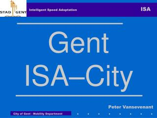 Gent ISA –City
