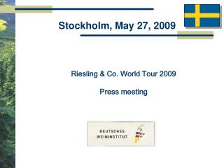 Stockholm, May 27, 2009