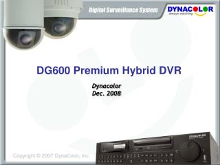 Dynacolor Dec. 2008
