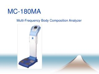 MC-180MA Multi-Frequency Body Composition Analyzer