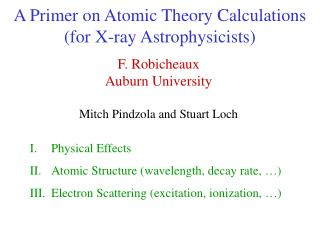 A Primer on Atomic Theory Calculations (for X-ray Astrophysicists)