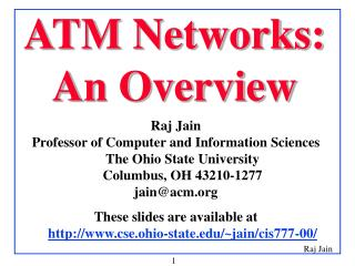 ATM Networks: An Overview