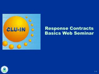 Response Contracts Basics Web Seminar