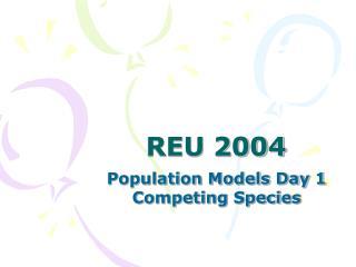 REU 2004
