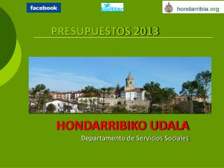 HONDARRIBIKO UDALA Departamento de Servicios Sociales