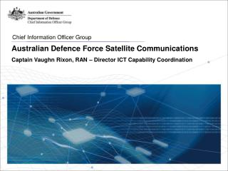 Australian Defence Force Satellite Communications