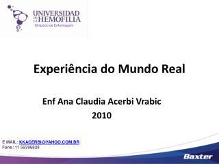Experiência do Mundo Real