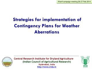 Central Research Institute for Dryland Agriculture (Indian Council of Agricultural Research)