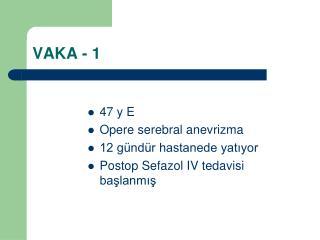 VAKA - 1