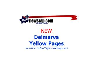 NEW Delmarva Yellow Pages DelmarvaYellowPages.newszap