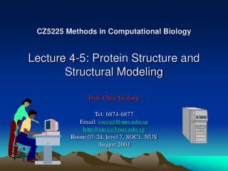 Protein Structural Organization