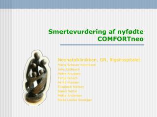 Smertevurdering af nyfødte COMFORTneo