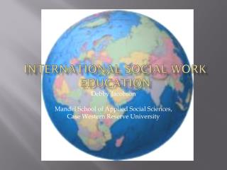 International Social Work Education