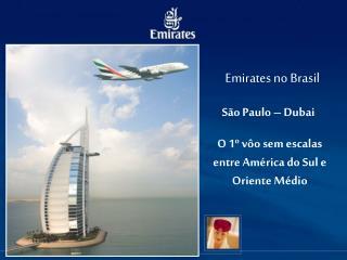 Emirates no Brasil
