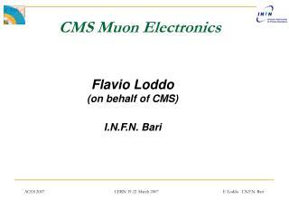 CMS Muon Electronics
